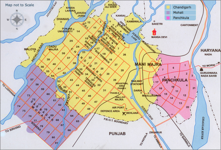 ChandigarhCity Map